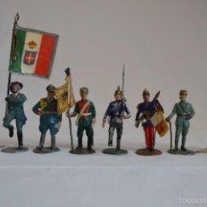 Juguetes Antiguos: FIGURAS DE PLOMO DE DIFERENTES EJERCITOS. HIRIART. ROMANJUGUETESYMAS.. Lote 56007717