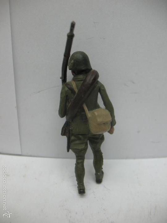 Juguetes Antiguos: Soldado plomo - Foto 4 - 56628055
