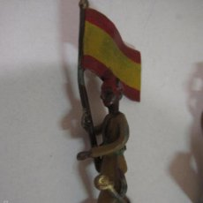 Juguetes Antiguos: REGULARES - INFANTERIA Y CABALLERIA -15 PIEZAS - FABRICANTE EULOGIO AÑO 1939 - VER FOTOS Y MEDIDAS. Lote 56920340