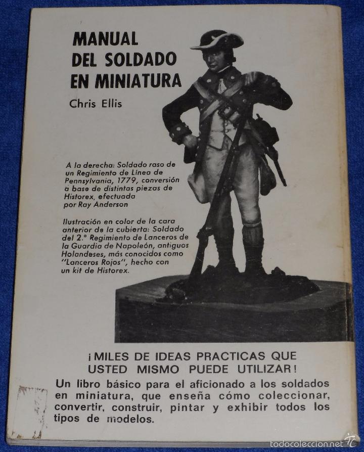 Juguetes Antiguos: Manual del soldado en miniatura - Chris Ellis - Borras Ediciones (1977) - Foto 7 - 171835657