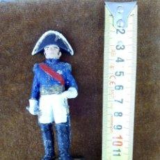 Juguetes Antiguos: FIGURA DE PLOMO DE MARISCAL FRANCÉS DE 1810. ANTIGUA. Lote 58303227
