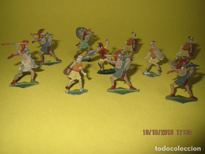 Juguetes Antiguos: Antiguos Soldados de Plomo, Gladiadores y Soldados Romanos - Año 1930-40s. - Foto 3 - 63272776