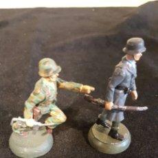 Juguetes Antiguos: SOLDADOS DE PLOMO ALEMAN NAZI WAFFEN SS . Lote 116005539