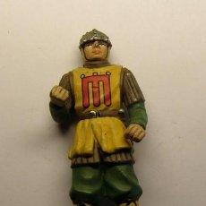 Juguetes Antiguos: SOLDADO DE PLOMO MEDIEVAL.. Lote 66808210