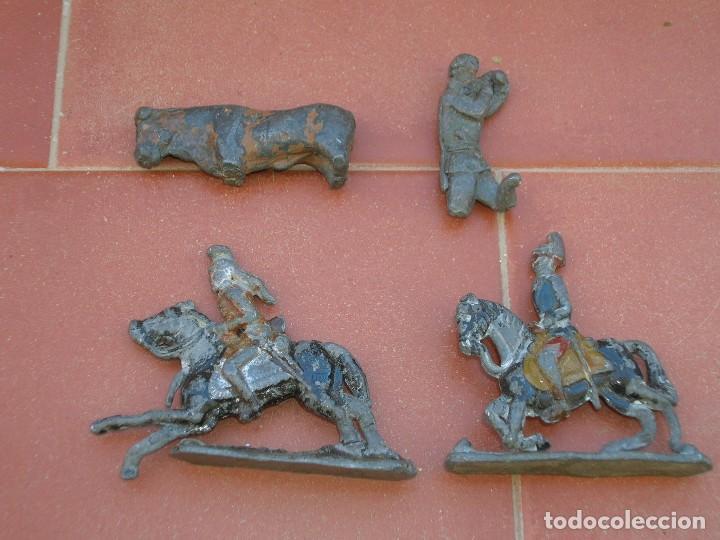 Juguetes Antiguos: Lote de antiquísimos soldados de plomo de 5 ctms..Todos los de la fotografia. - Foto 3 - 66942286