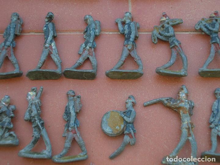 Juguetes Antiguos: Lote de antiquísimos soldados de plomo de 5 ctms..Todos los de la fotografia. - Foto 6 - 66942286