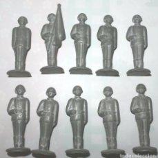 Juguetes Antiguos: LOTE 10 SOLDADOS DE PLOMO .URSS. Lote 77156334