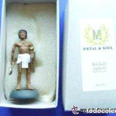 Juguetes Antiguos: FIGURA DE GUERRERO EGIPCIO , SIGLO X AC. . NUEVO EN SU CAJA. Lote 69642265