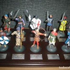 Juguetes Antiguos: SOLDADITOS SOLDADOS PLOMO GUERREROS Y CABALLEROS. Lote 76343767