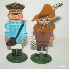 Juguetes Antiguos: DOS FIGURAS DE PLOMO.. Lote 76734119