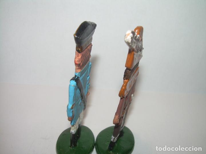 Juguetes Antiguos: DOS FIGURAS DE PLOMO. - Foto 3 - 76734119