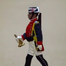 Juguetes Antiguos: GUARDIA CIVIL DE GALA, MUSICO, CORNETIN, FIGURA PLANA PLOMO, MALLOL, LEAD FLAT SOLDIER 1980S. Lote 78106141