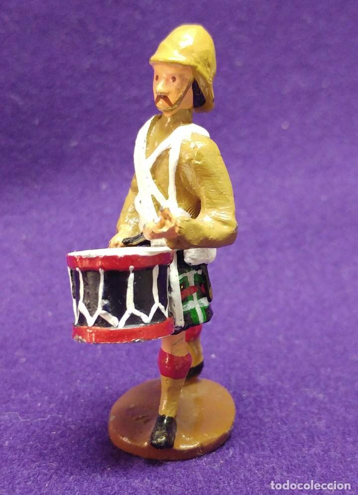Juguetes Antiguos: ANTIGUA FIGURA KING & COUNTRY. K&C. PINTADO A MANO.ESCALA 1/30. 60mm.SOLDADITO ESCOCES.SOLDADO PLOMO - Foto 2 - 80003625