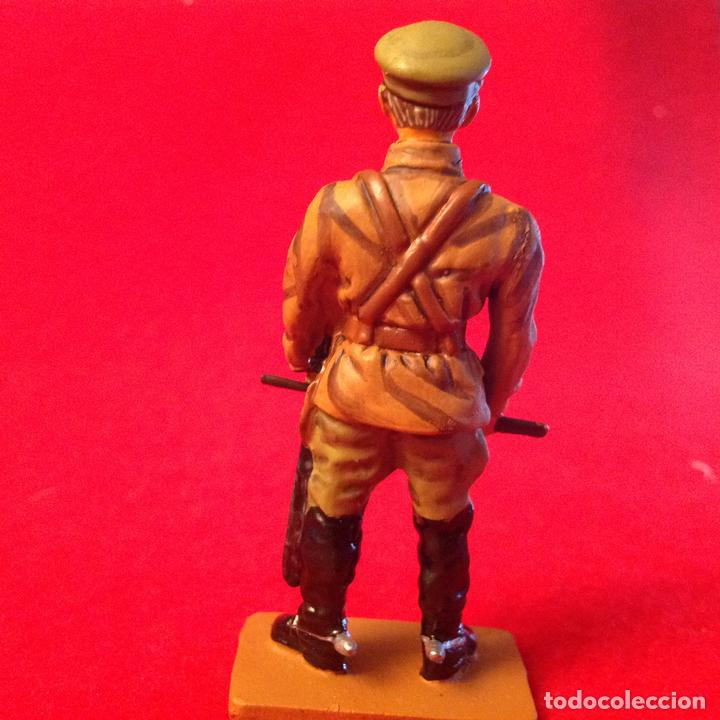 Juguetes Antiguos: Soldadito de plomo pintado a mano de Del Prado, Comandante de compañía, Rusia 1919, nuevo. - Foto 2 - 80738598