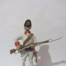 Juguetes Antiguos: GRANADERO RTO NAVARRA 1752 SOLDADOS ESPAÑOLES ESCALA H/54 PINTADO A MANO. Lote 82936788