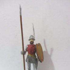 Juguetes Antiguos: ESTRADIOTE CABALLERIA LIGERA 1507 SOLDADOS ESPAÑOLES ESCALA H/54 PINTADO A MANO. Lote 82936920