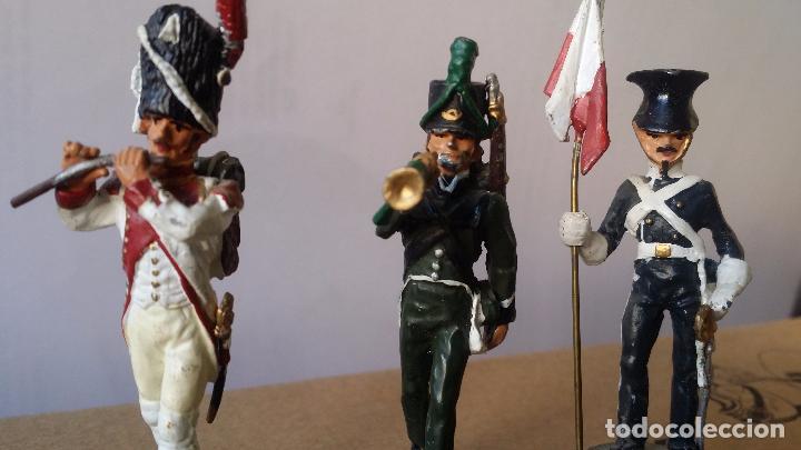 Juguetes Antiguos: SOLDADOS METAL -LOTE 3 SOLDADOS - Foto 2 - 83427492