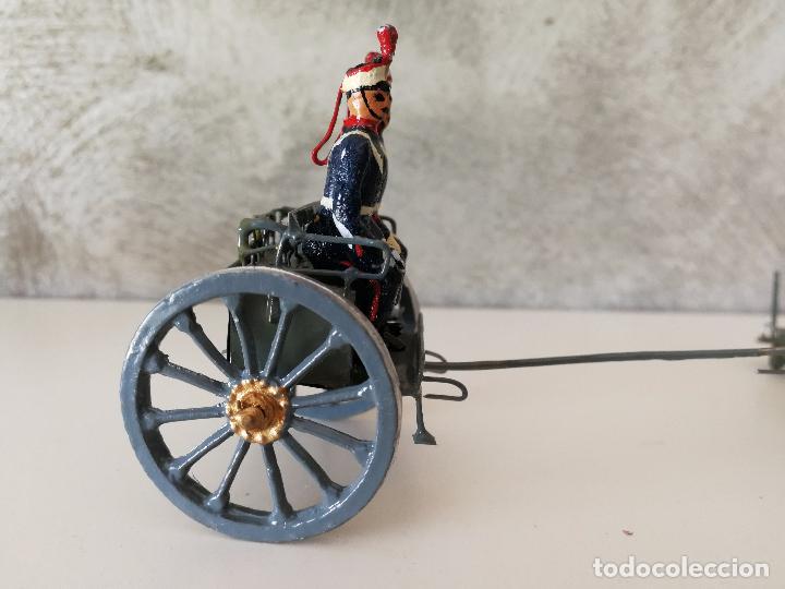 Juguetes Antiguos: TREN DE ARTILLERÍA SOLDADOS DE PLOMO - Foto 11 - 85209136
