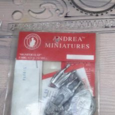 Juguetes Antiguos: SOLDADITO PLOMO PARA DECORAR ANDREA MINIATURES 54 MM SIN ABRIR. Lote 85314952