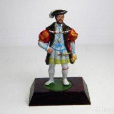 Juguetes Antiguos: SOLDADO DE PLOMO REY ENRIQUE VIII DE ALYMER . Lote 86515988