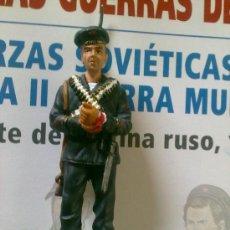 Juguetes Antiguos: SOLDADOS DE PLOMO GUERRAS DEL SIGLO XX - INFANTE MARINA RUSO - (SOLDADO + FASCICULO DE 15 PAGINAS) . Lote 87373148