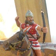 Juguetes Antiguos: SOLDADOS DE PLOMO - CABALLERO ARQUERO ASYRIO AÑO 850 A.C. . Lote 93619640