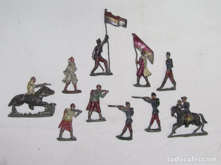 Juguetes Antiguos: 10 Soldaditos de plomo del siglo XIX - Foto 2 - 99632639