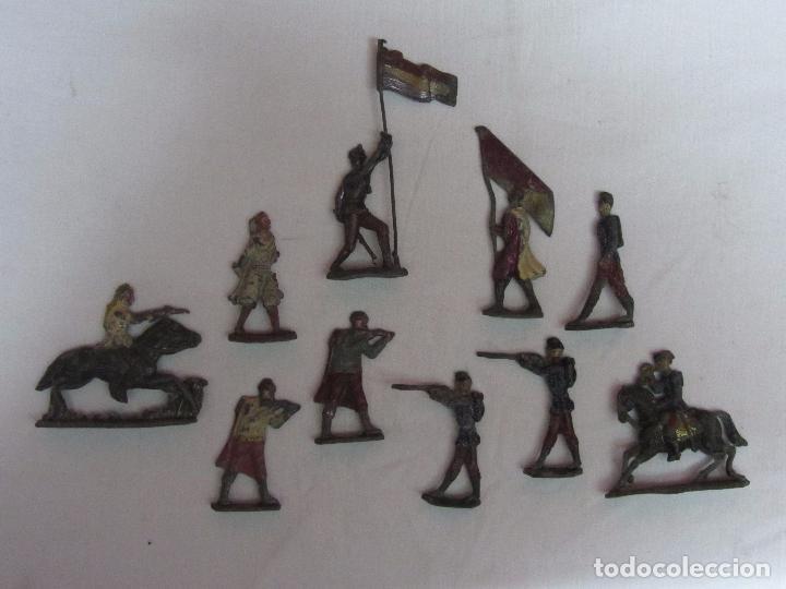 Juguetes Antiguos: 10 Soldaditos de plomo del siglo XIX - Foto 3 - 99632639