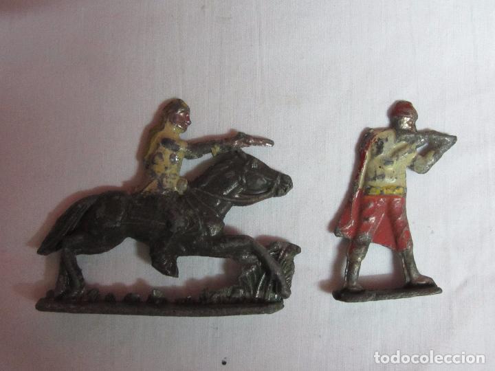 Juguetes Antiguos: 10 Soldaditos de plomo del siglo XIX - Foto 4 - 99632639