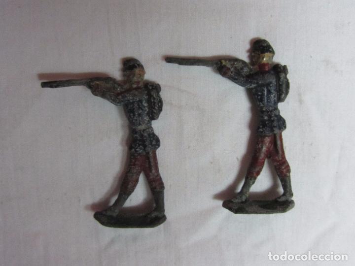 Juguetes Antiguos: 10 Soldaditos de plomo del siglo XIX - Foto 8 - 99632639