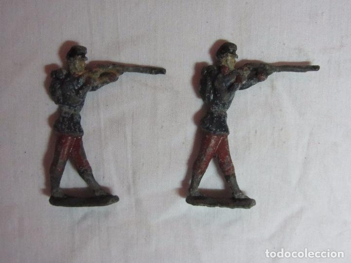 Juguetes Antiguos: 10 Soldaditos de plomo del siglo XIX - Foto 9 - 99632639