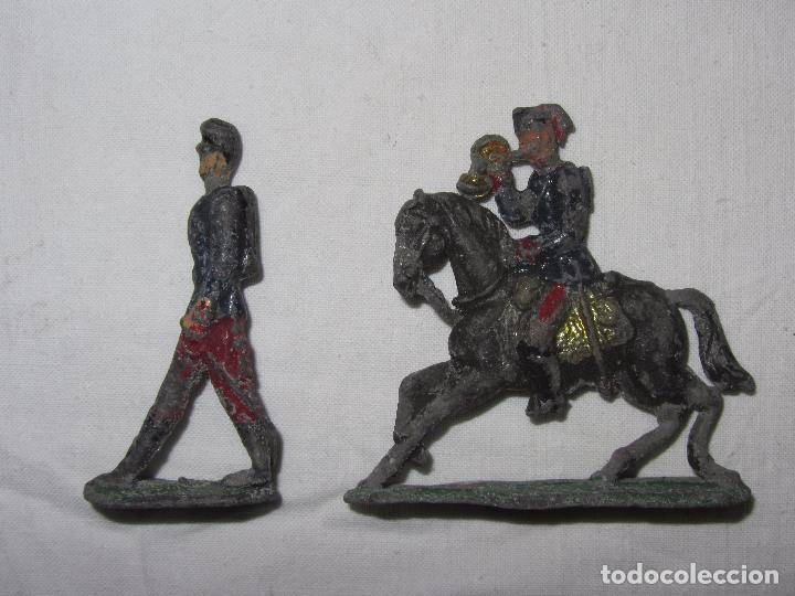 Juguetes Antiguos: 10 Soldaditos de plomo del siglo XIX - Foto 10 - 99632639