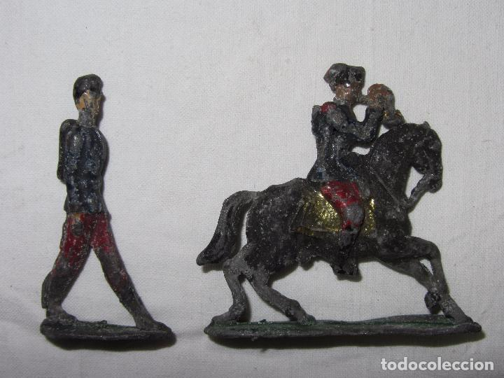 Juguetes Antiguos: 10 Soldaditos de plomo del siglo XIX - Foto 11 - 99632639