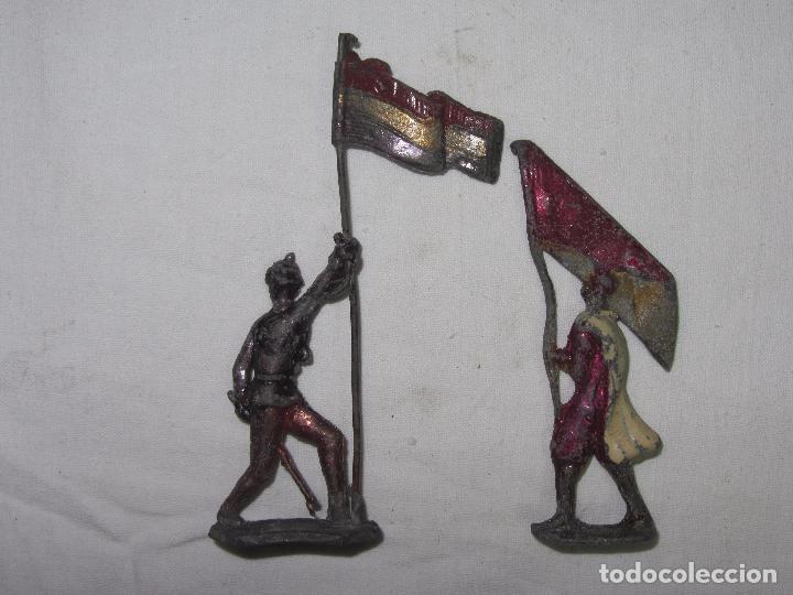 Juguetes Antiguos: 10 Soldaditos de plomo del siglo XIX - Foto 12 - 99632639