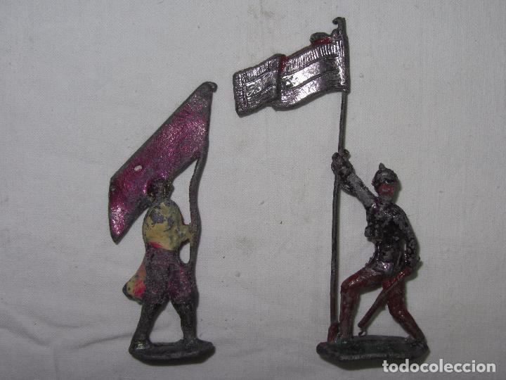 Juguetes Antiguos: 10 Soldaditos de plomo del siglo XIX - Foto 13 - 99632639