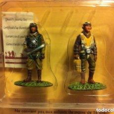 Juguetes Antiguos: SOLDADIROS - LOTE 2 AVIADORES. Lote 103470127