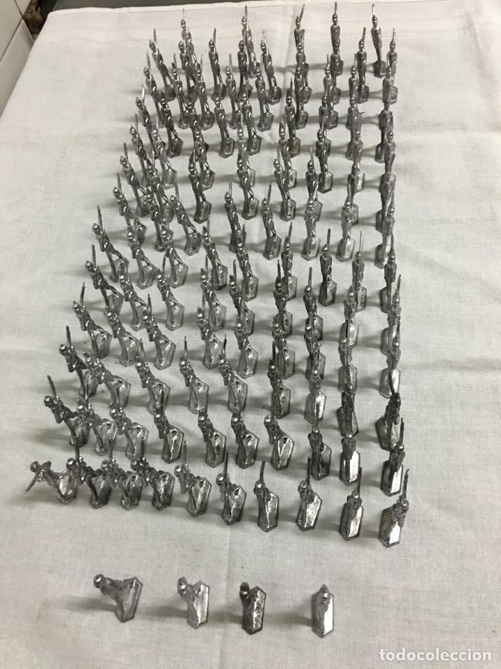 BATALLÓN DE SOLDADOS DE PLOMO ANTIGUOS (Juguetes - Soldaditos - Soldaditos de plomo)
