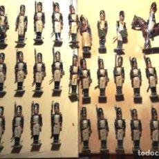 Juguetes Antiguos: SOLDADOS ANTIGUOS DEL FABRICANTE PALOMEQUE. Lote 104350451