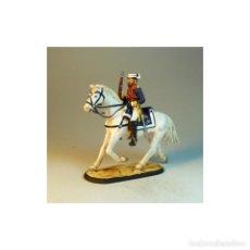 Juguetes Antiguos: ESTUPENDO GASTADOR DE LA GUARDIA CIVIL A CABALLO DE PLOMO DE 1911. Lote 104367559