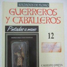 Juguetes Antiguos: SOLDADOS DE PLOMO - GUERREROS Y CABALLEROS - R.B.A. Nº 12 - CALIFATO OMEYA - CON FASCÍCULO. Lote 105568939