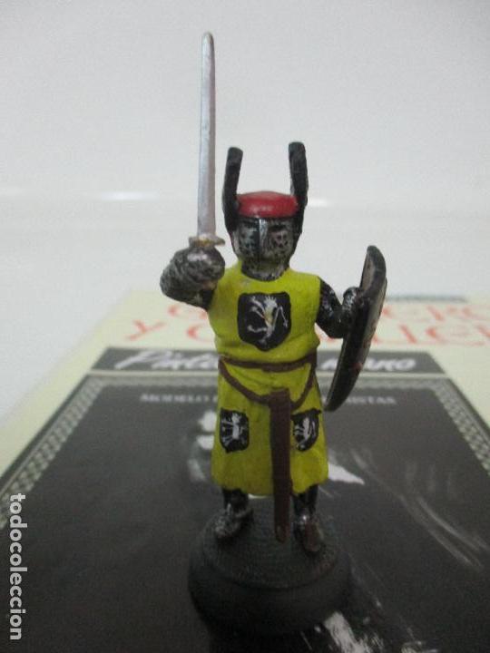 Juguetes Antiguos: Soldados de Plomo - Guerreros y Caballeros - R.B.A. nº 16 - Mongolia - con Fascículo - Foto 2 - 105568987