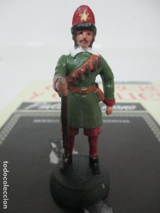 Juguetes Antiguos: Soldados de Plomo - Guerreros y Caballeros - R.B.A. nº 29 - Suecia Mosquetero - con Fascículo - Foto 2 - 105569215