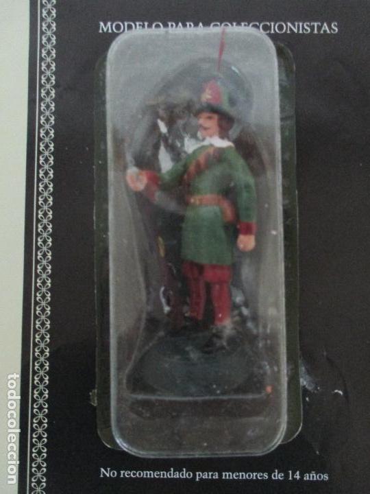 Juguetes Antiguos: Soldados de Plomo - Guerreros y Caballeros - R.B.A. nº 29 - Suecia Mosquetero - con Fascículo - Foto 4 - 105569215