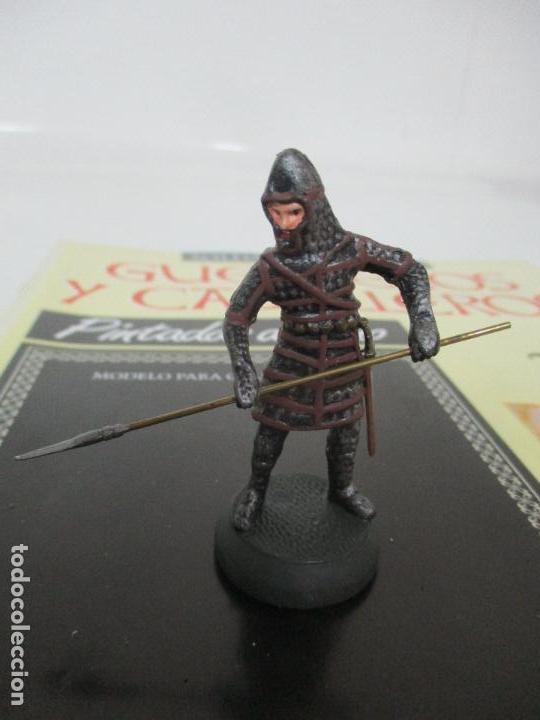 Juguetes Antiguos: Soldados de Plomo - Guerreros y Caballeros - R.B.A. nº 36 - Bizancio - con Fascículo - Foto 2 - 105569639