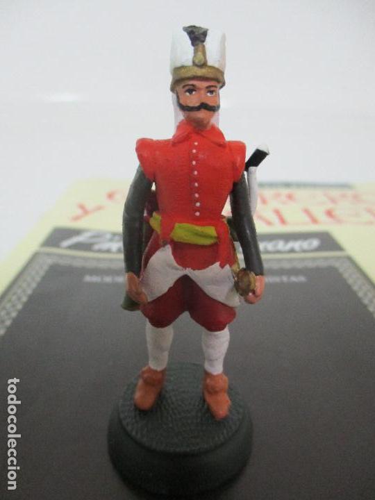 Juguetes Antiguos: Soldados de Plomo - Guerreros y Caballeros - R.B.A. nº 48 - imperio Otomano - con Fascículo - Foto 2 - 105569783