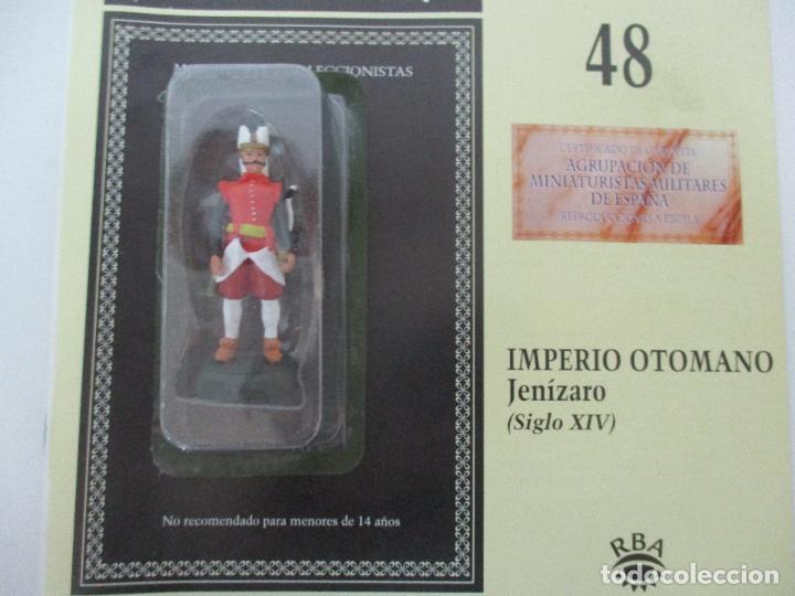 Juguetes Antiguos: Soldados de Plomo - Guerreros y Caballeros - R.B.A. nº 48 - imperio Otomano - con Fascículo - Foto 5 - 105569783