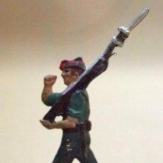 Juguetes Antiguos: LEGIONARIO, SOLDADITO. FIGURA PLANO PLOMO, 30 MM, VICENTE MALLOL, LEAD FLAT SOLDIER 1980S. Lote 105671299