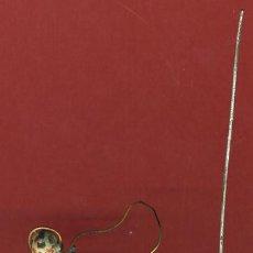 Juguetes Antiguos: ANTIGUO SOLDADO SOLDADITO DE PLOMO , ALYMER , MILITAR CON RADIO , GRUPO , ORIGINAL , ALY 49. Lote 107431707