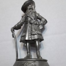 Juguetes Antiguos: FIGURA DE ESTAÑO ANTIGUA BPC SHEFFIELD QUENE'S REGIMENT. Lote 108298694