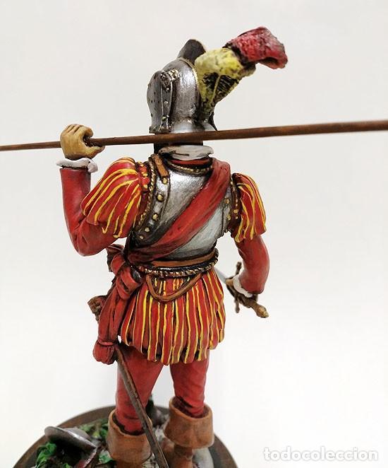 Juguetes Antiguos: SOLDADO DE PLOMO - 90 MM - CAPITAN DEL TERCIO 1533 - FIGURA MINIATURA BENEITO METAL 90MM - Foto 3 - 112662459